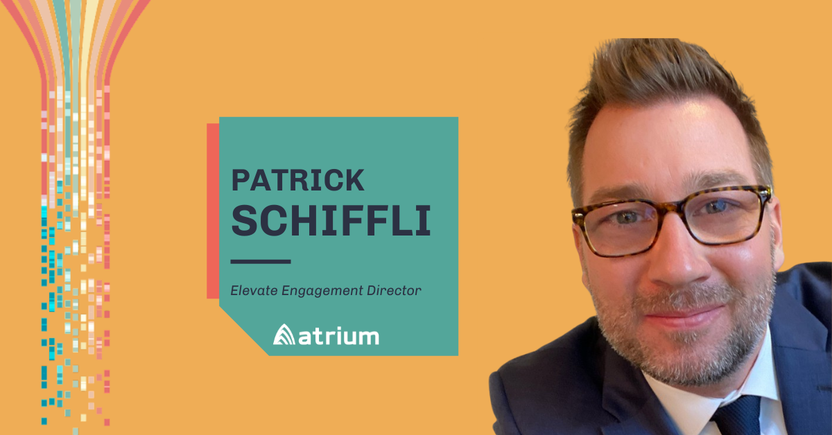 Get to know atrium- patrick schiffli